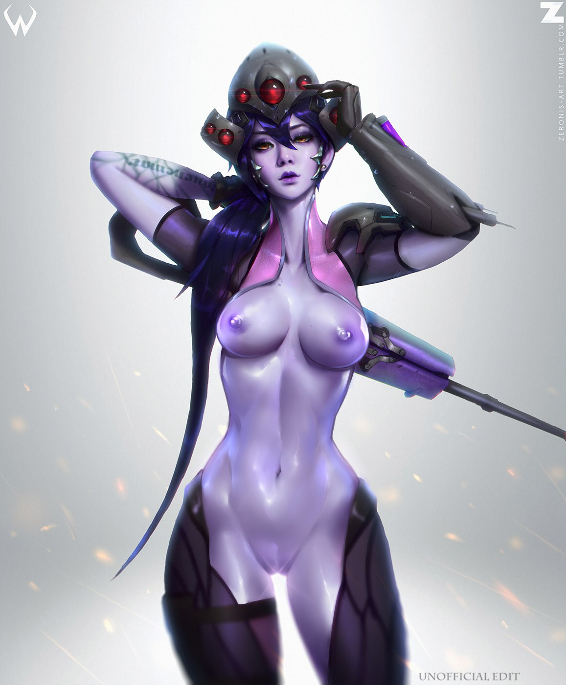 overwatch widowmaker hentai