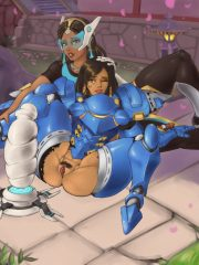 Pharah and Symmetra