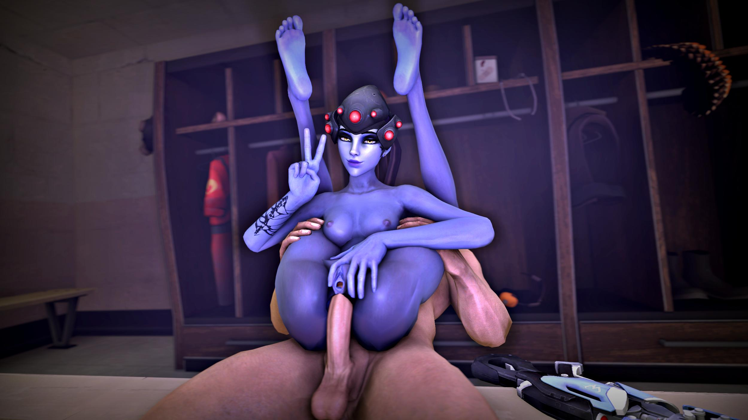 Widowmaker overwatch feet porn