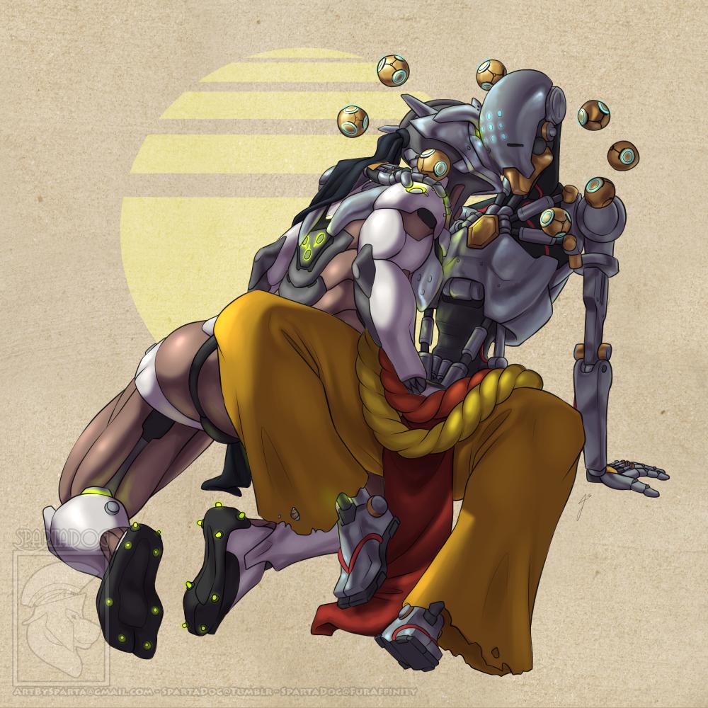 Genji_Shimada Overlook SpartaDog Zenyatta