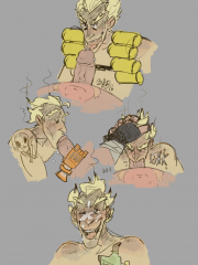 Junkrat and Roadhog