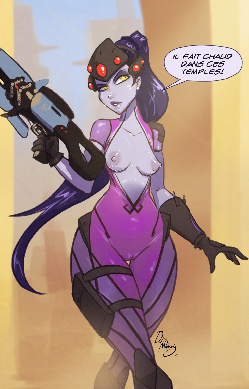 naked widowmaker