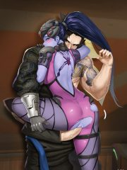 Hanzo and Widowmaker