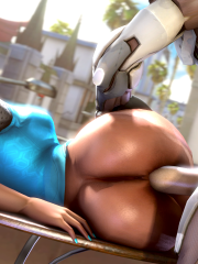 Genji and Symmetra
