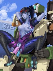 Bastion and Widowmaker