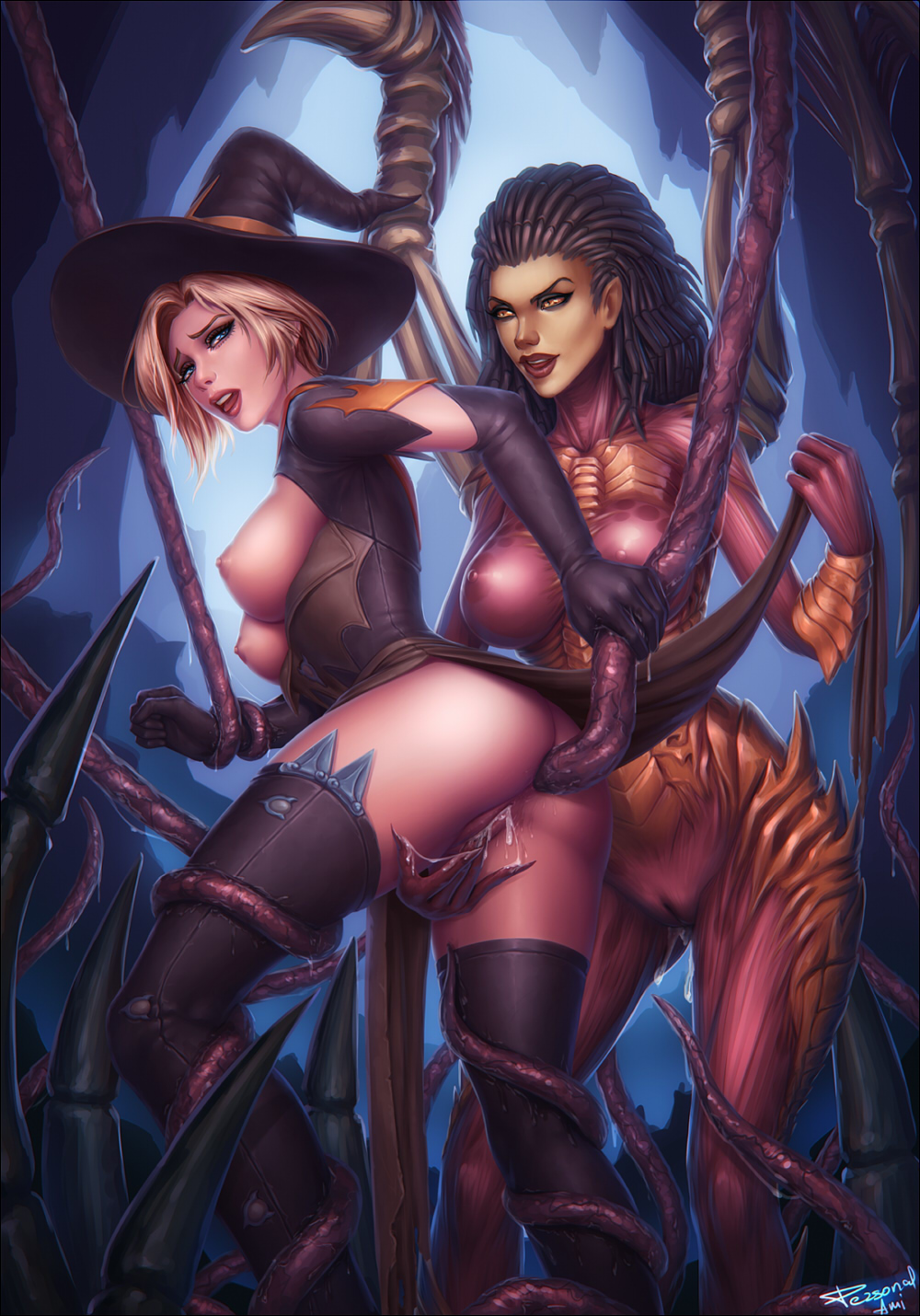 mercy-overlook-personalami-sarah_kerrigan-starcraft-crossover