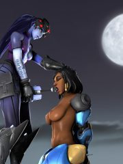 Pharah and Widowmaker