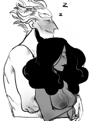 Junkrat and Symmetra