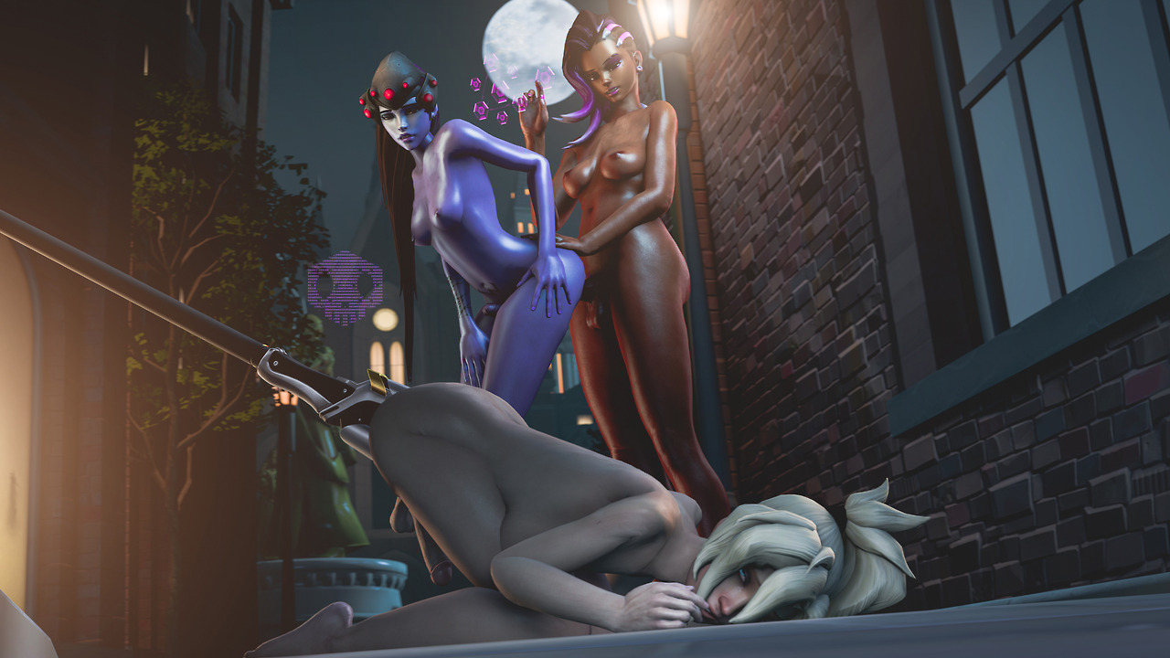image Overwatch movie futa widowmaker and sombra ambush and fuck dva