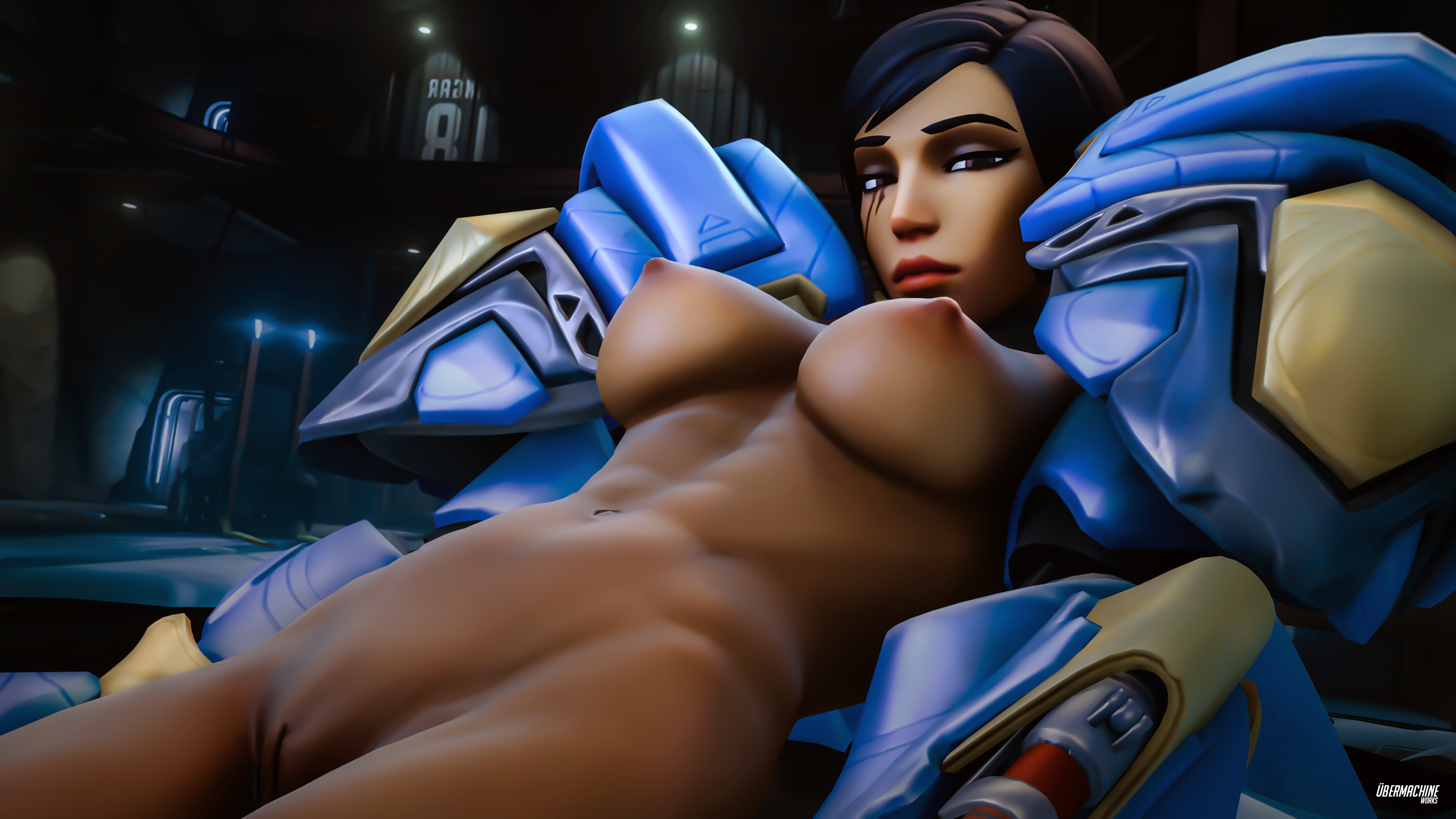 Thunderbird pharah overwatch porn