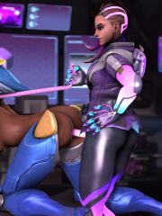 Pharah and Sombra