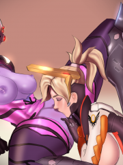 Mercy and Widowmaker