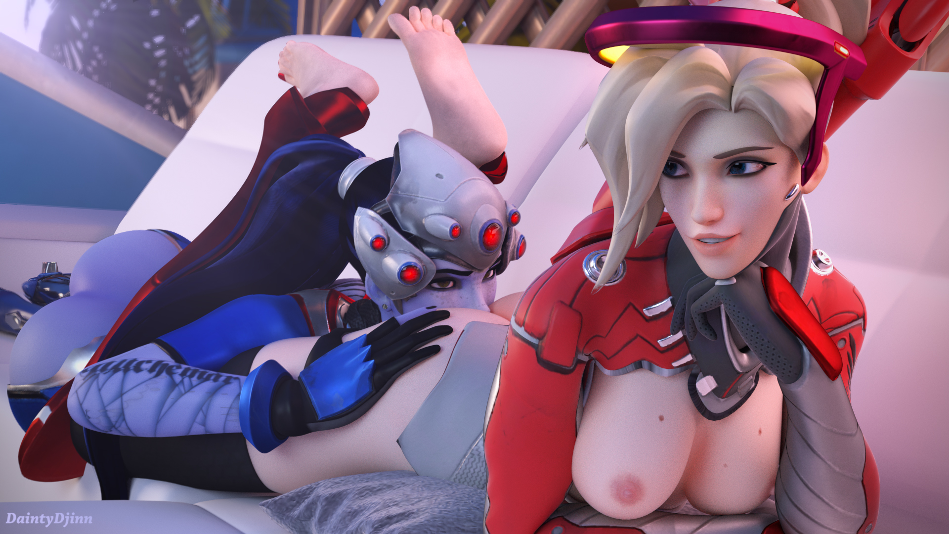 image Widowmaker amp mercy blowjob firebox studio