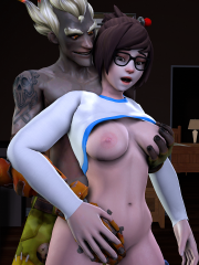 Junkrat and Mei