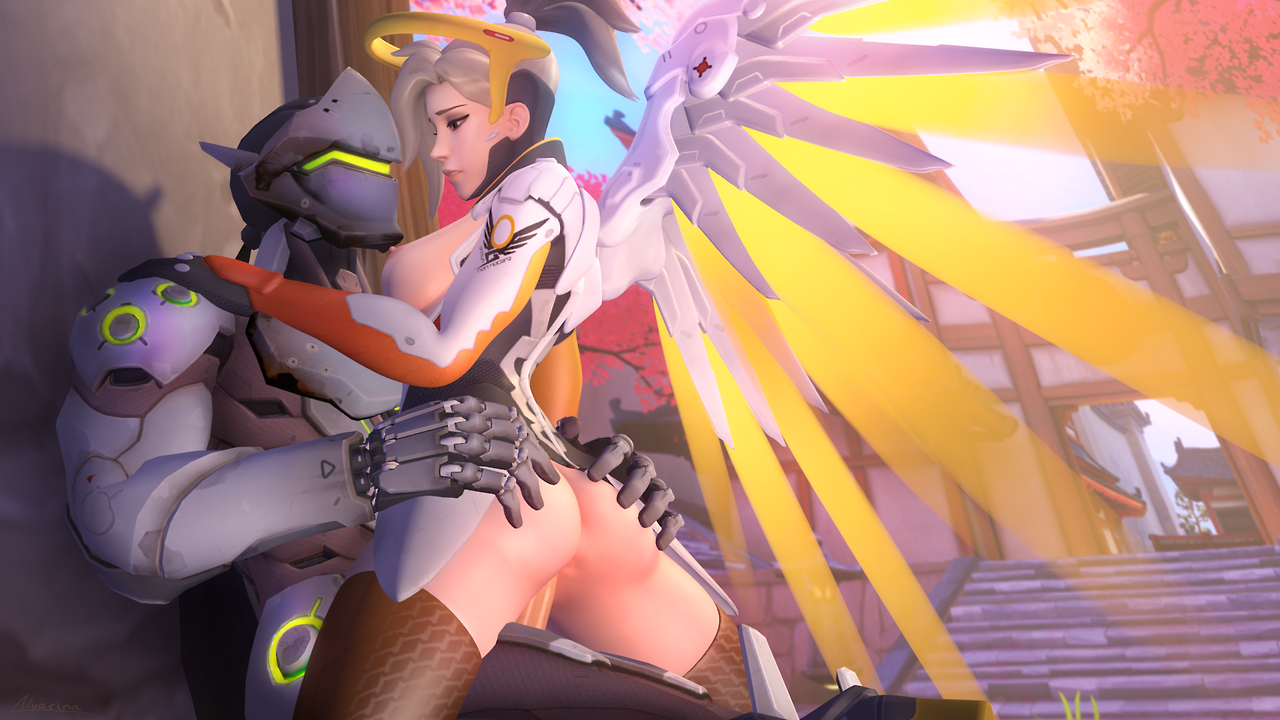 2301908 - Genji_Shimada Mercy Overlook source_filmmaker