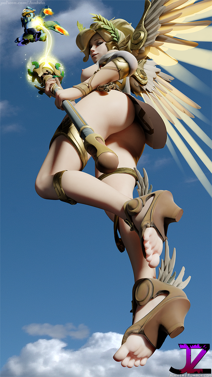 Winged victory mercy hentai