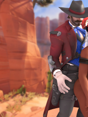 McCree and Pharah