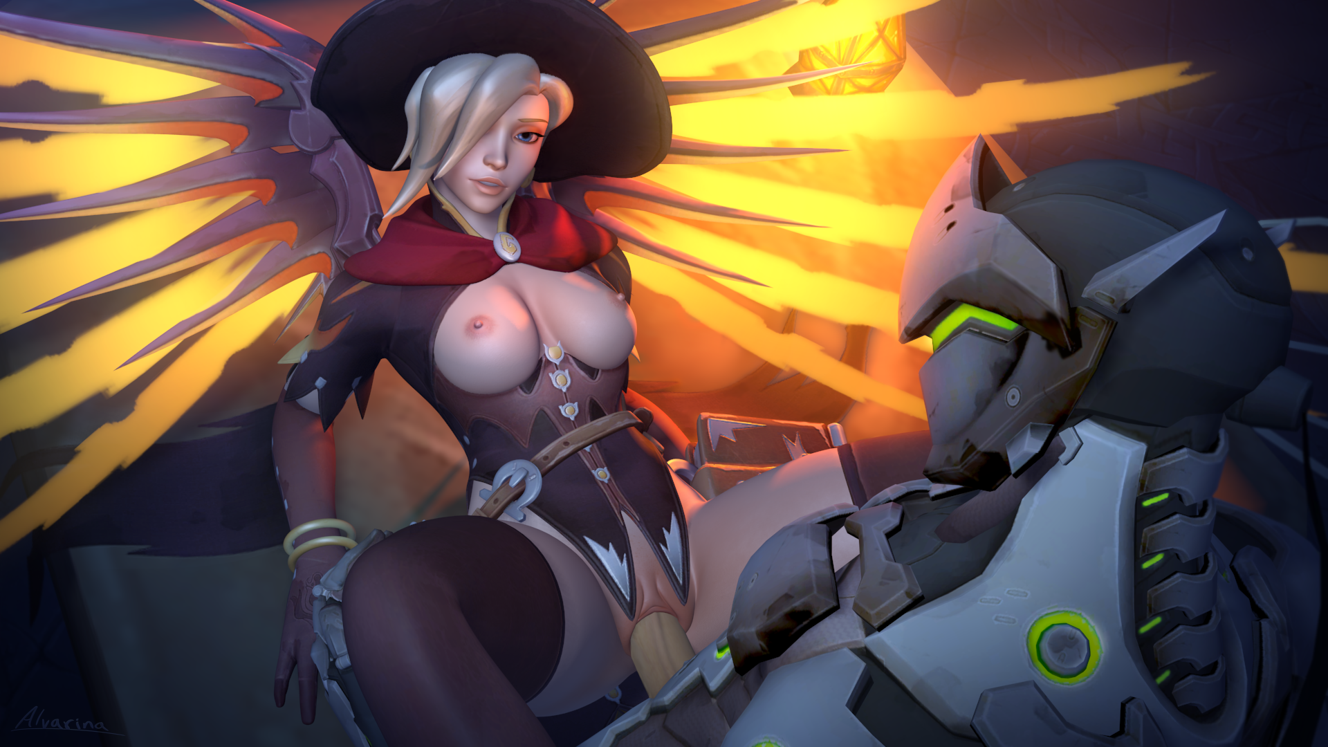 2366094 - Alvarina Genji_Shimada Halloween Mercy Overlook