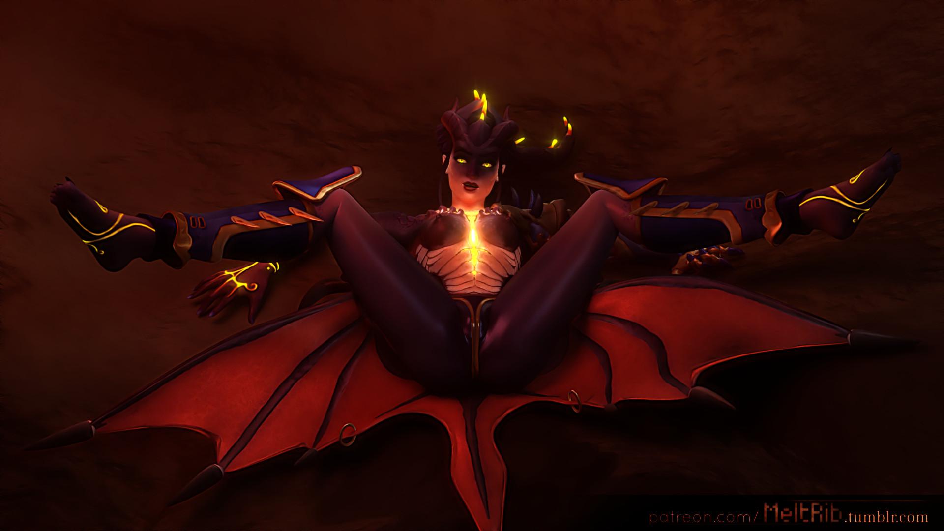 2369808 - Halloween MeltRib Overlook Symmetra blender