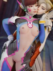 D.Va and Mercy