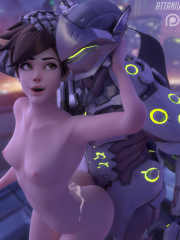 Genji and Tracer
