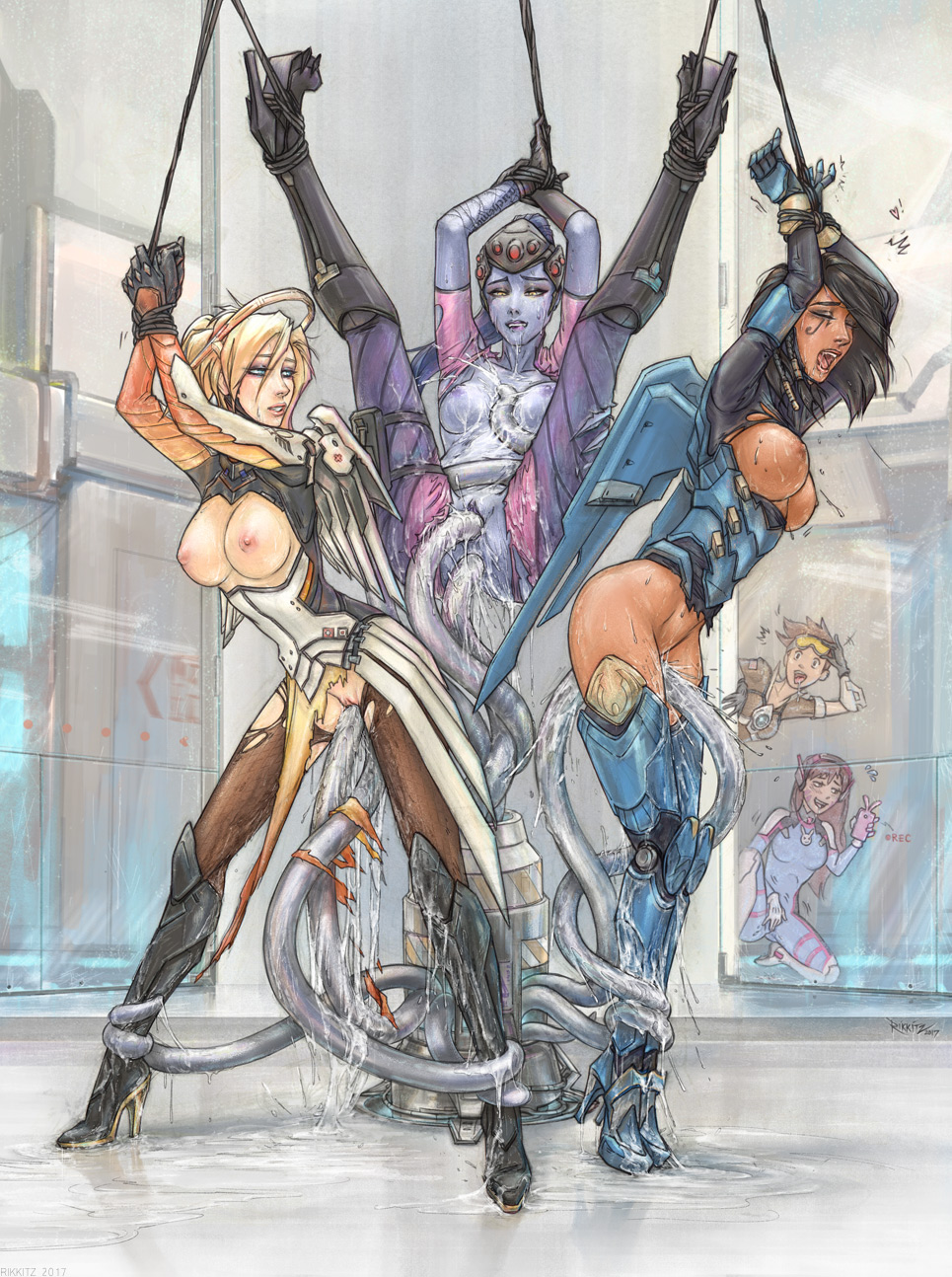 2448158 - D.Va Mercy Overlook Pharah Rikkitz Tracer Widowmaker