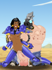 Pharah and Roadhog
