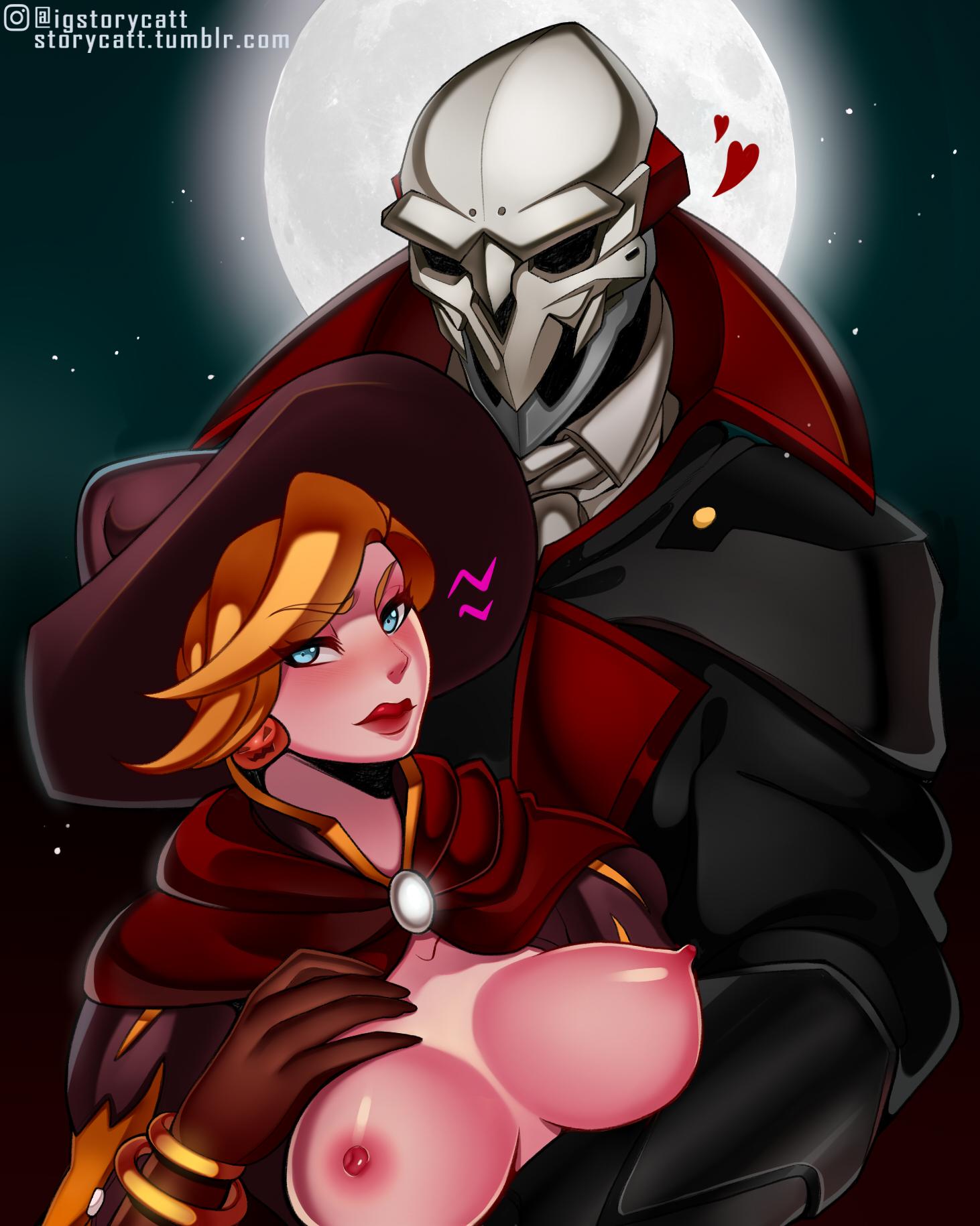 2616644 - Halloween Mercy Overlook Reaper StoryCatt