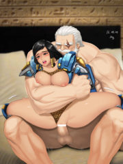 Pharah and Reinhardt