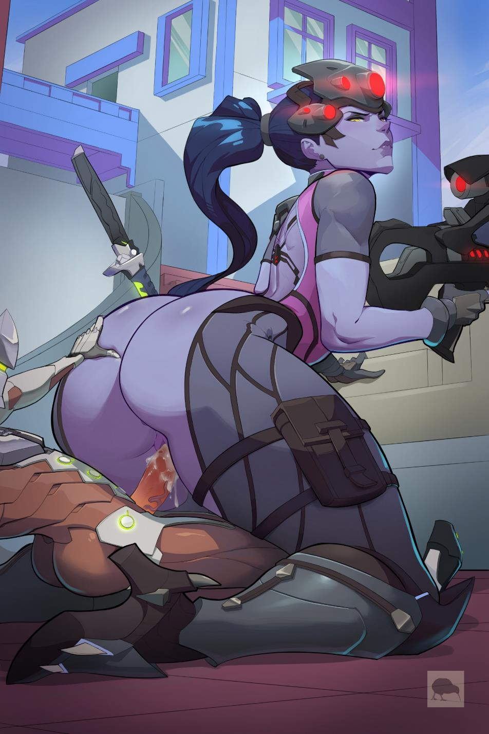 2852555 - Genji_Shimada NobuONE Overlook Widowmaker