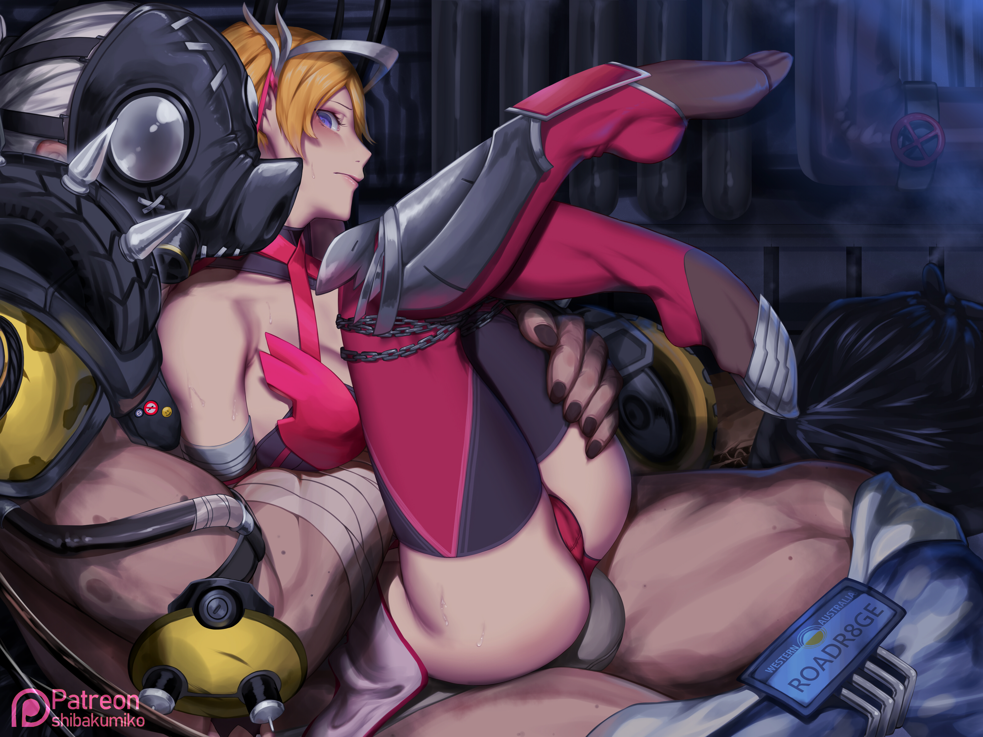 Mercy and Roadhog