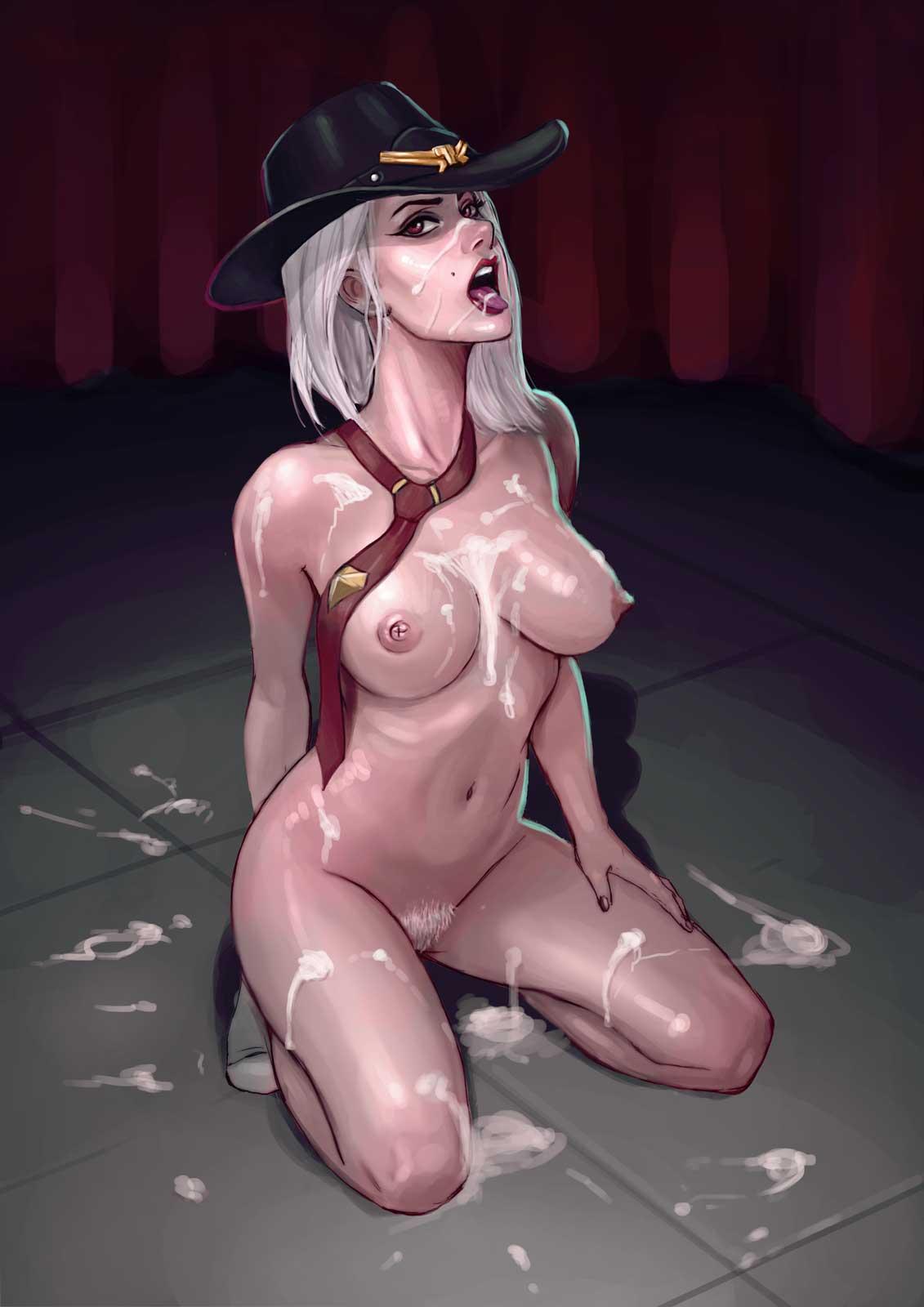 Порно Ashe Овервотч