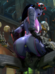 Widowmaker and Zenyatta