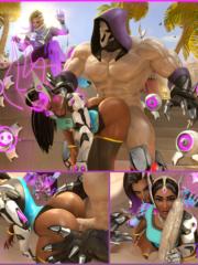 Reaper, Sombra and Symmetra