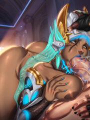 Symmetra and Zarya
