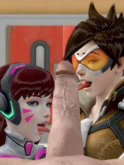 D.Va and Tracer