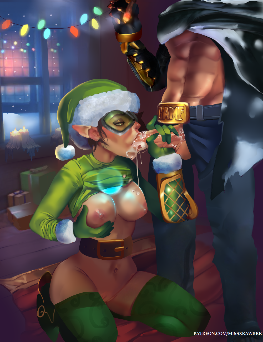 2093253 - Christmas Jesse_McCree Missxrawrrr Overlook Tracer
