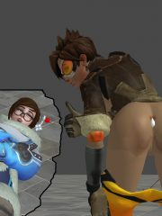 Mei and Tracer