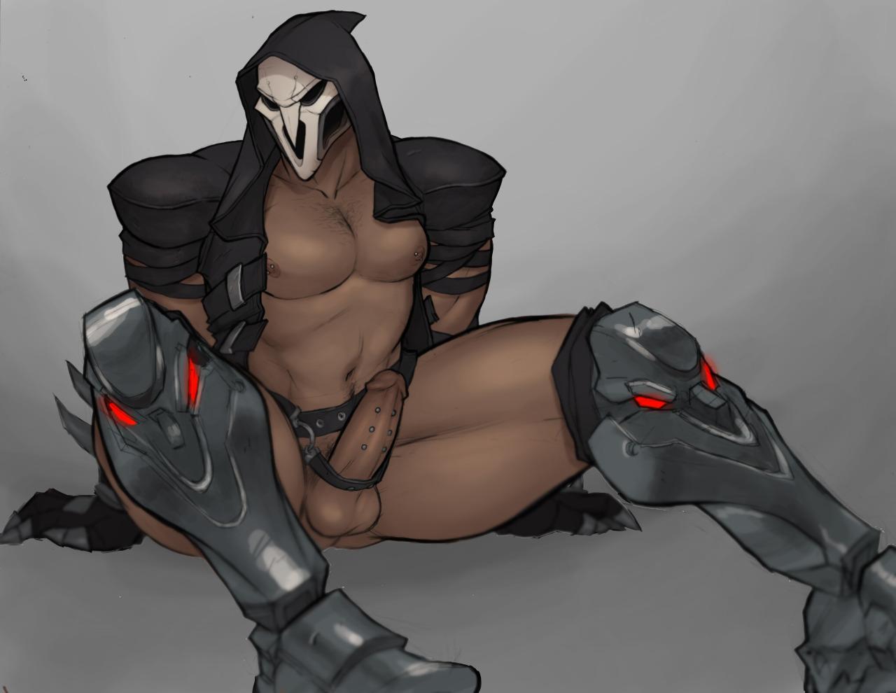 Sexy older version if black reaper kaneki wow