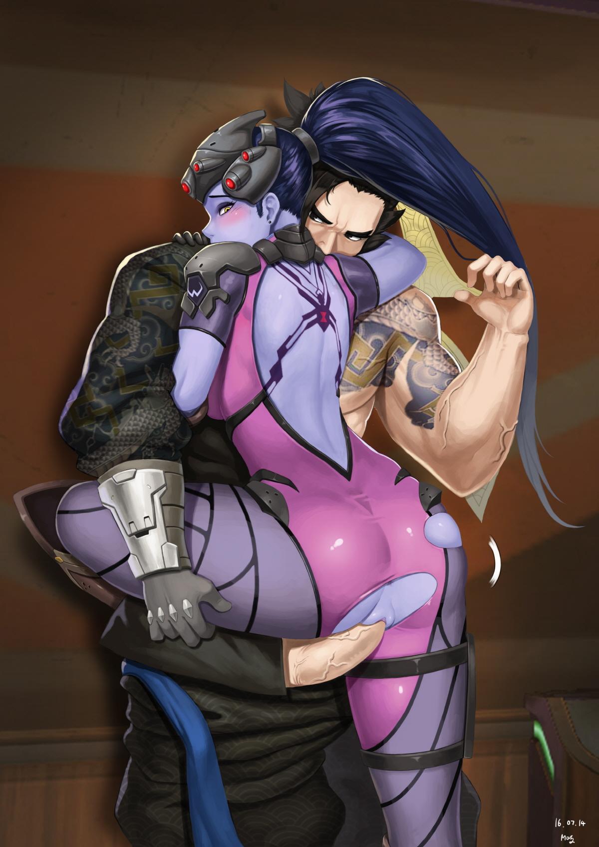 Hanzo and Widowmaker