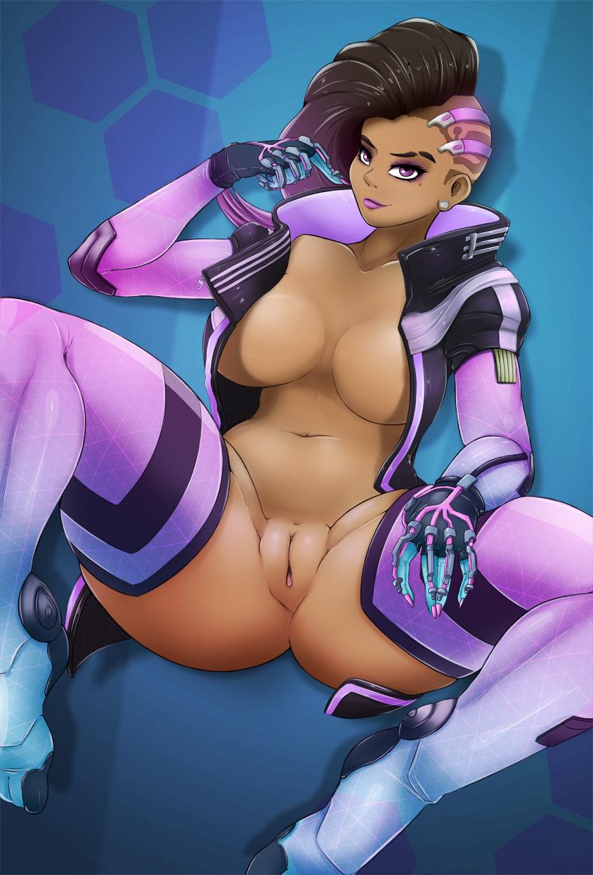 Overwatch sombra porn