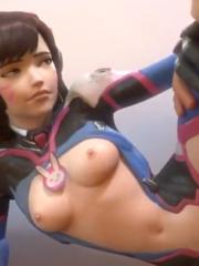 Overwatch Compilation 2 hentai 3D