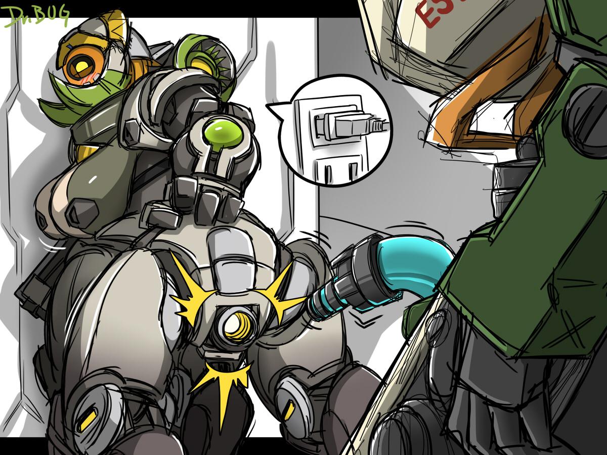 Overwatch orisa rule 34