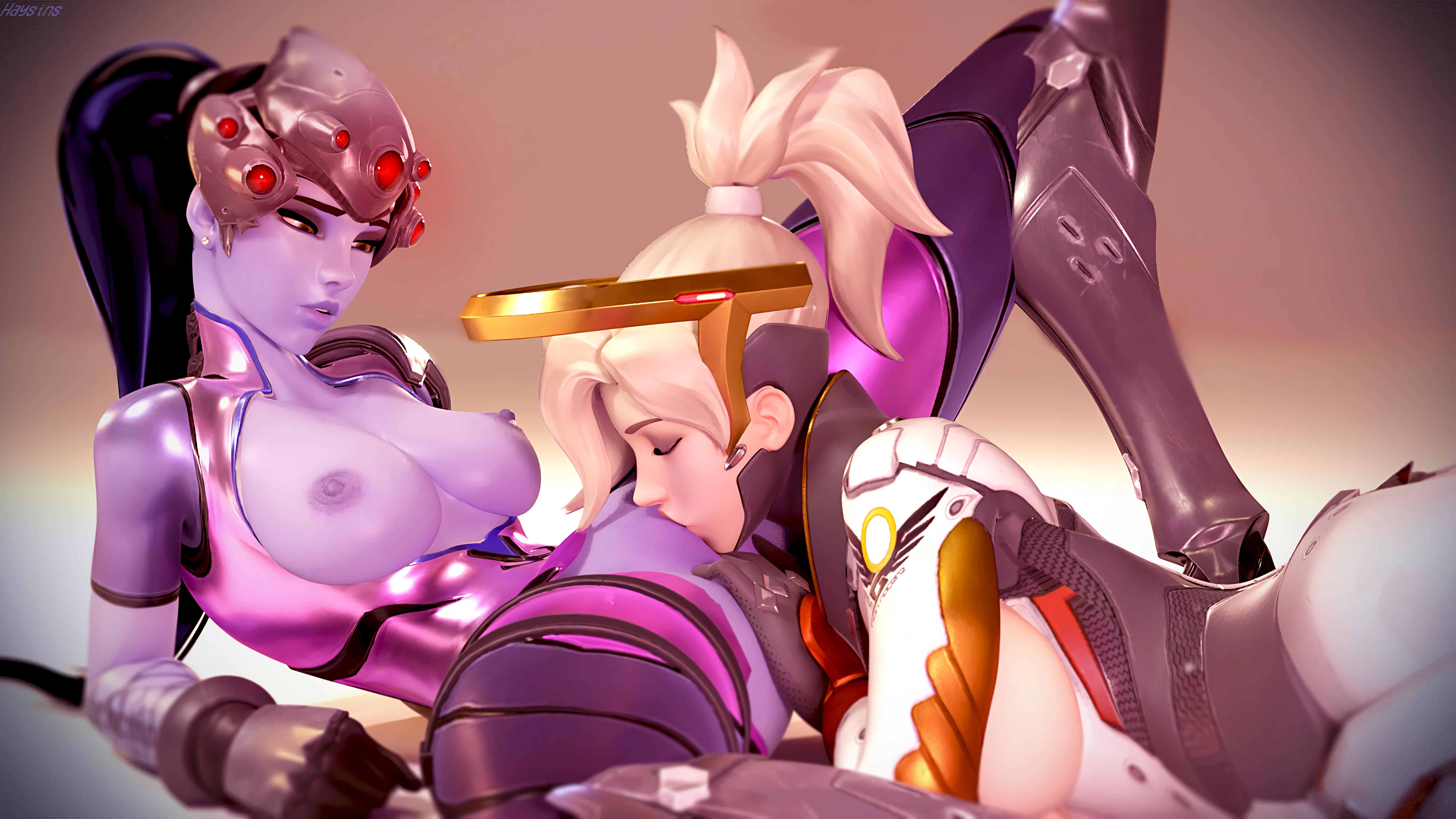 Mercy and widowmaker porn