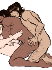 McCree, Mercy and Reaper