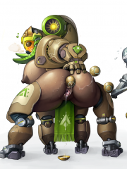 Orisa and Zenyatta