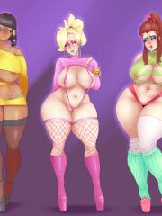 Brigitte, Mercy and Pharah