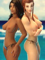 Ana and Brigitte