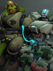 Bastion and Orisa