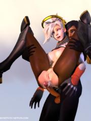 Mercy and Pharah
